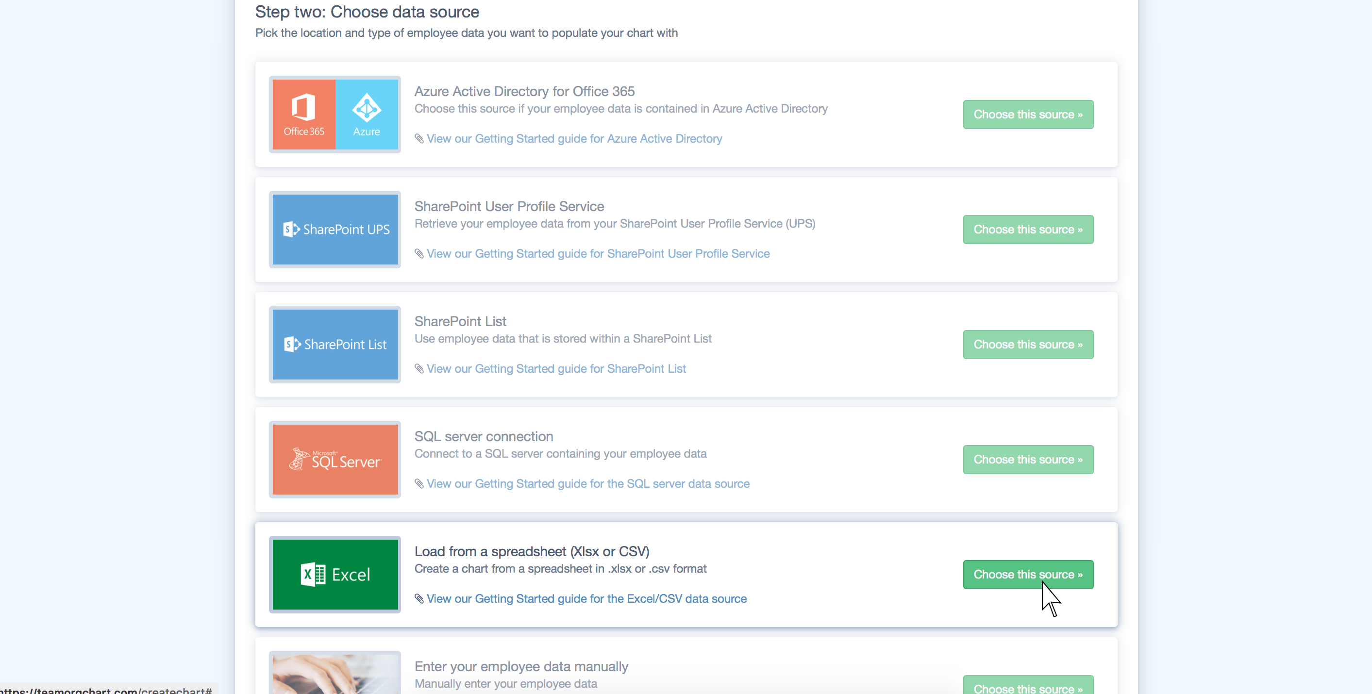 TeamOrgChart :: User guides
